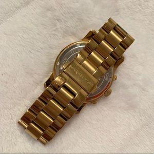 Michael Kors Accessories - Michael Kors Orange & Gold Watch